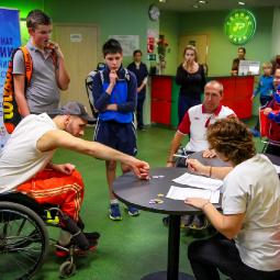 Чемпионат на колясках с 6 по 10 ноября 2018 года